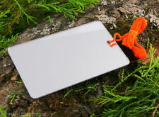 UST FIND ME LIGHTWEIGHT UNBREAKABLE SIGNALLING MIRROR BUSHCRAFT SURVIVAL CAMPING