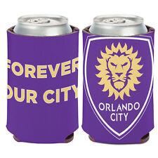 Orlando City SC Can Cooler 12 oz. MLS Koozie