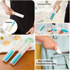 NEWEST Washable Lint Dust Hair Remover Cloth Sticky Roller Brush Cleaner Folding