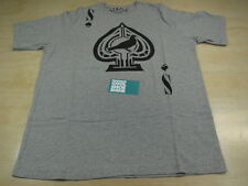 STAPLE DESIGN PIGEON SPADES TEE SHIRT HEATHER GRAY BLACK STPL L REED SPACE