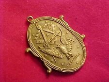 ORIGINAL VINTAGE MASON / MASONIC NATIONAL MEDAL
