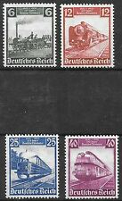 Germany Third Reich 1935 Mi# 580-583 MH German Railway Centenary *