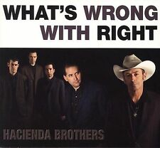 What's Wrong with Right [Digipak] by Hacienda Brothers (CD, Jun-2006, Proper...