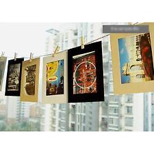 """10 Stück 6"""" Foto Papier Foto Album Rahmen Papierrahmen Klammern Seil Party Dekor"""