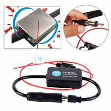 NEW Car Inline Antenna Aerial Radio FM Signal Booster Amplifier Amp ANT-208