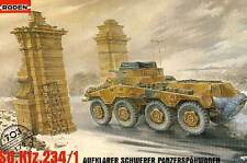 Roden Sd.Kfz.234/1 8-Rad Panzerspähwagen 1945 Gdansk 1:72 NEU OVP Modell-Bausatz