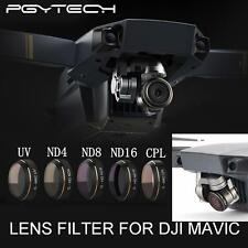 PGY Filter For DJI Mavic Pro G-UV ND4 ND8 ND16 CPL -5 Pack (Free Shipping)