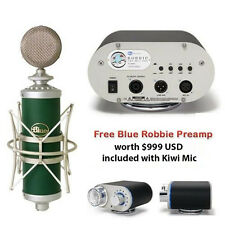 NEW BLUE KIWI Condenser Microphone PLUS Blue Robbie Microphone Preamp