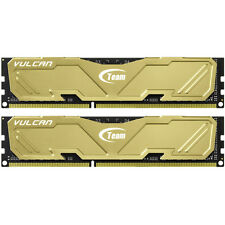 TEAM GROUP VULCAN GOLD 8GB (2 X 4GB) DDR3 1600MHZ DUAL CHANNEL MEMORY KIT