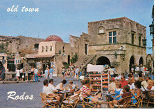 POSTCARDS Rhodes Old Town Hippocrates Square GREECE