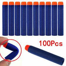 100Pcs Nachfüll Refill Darts Pfeile Elite Clip Darts für NERF N-Strike Blaster