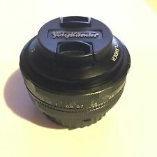 Voigtlander Ultron 40mm f/2 Aspherical MF SL II Lens Nikon