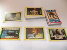 STARSKY AND HUTCH FULL SET OF 72 MONTY GUM cards DAVID SOUL PAUL MICHAEL GLASER