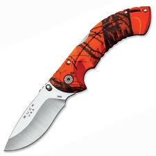 Buck Knives Omni Hunter Orange Camo Plain Edge 395CMS9