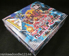 Konami Yu-Gi-Oh Number Hunters 1st edition Booster Box, 24 packs/5 cards