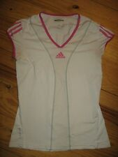 ADIDAS CLIMA COOL FORMOTION BARRICADE WOMENS SM CAP SLEEVE ATHLETIC GOLFTOP