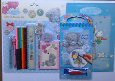 TATTY TEDDY BUNDLE- ME TO YOU  SUPER STATIONERY SET, ACTIVITY PAD AND AQUA MAGIC