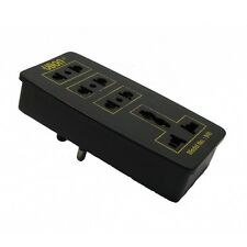 UBON Multi Plug Sockets - 3 Pin with 3 International Sockets