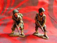 King & Country retired - DD097 - 2 soldats américains - 2-Man Patrol (WW2)