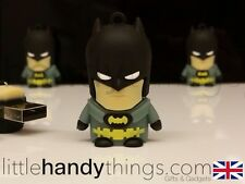 Lindo Cartoon Batman Usb 8gb Flash Drive Memoria pen/stick Regalo Llavero