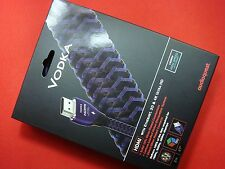 AudioQuest VODKA 2M ( 2 Meter) TV Video Plasma HDMI Cable 6.6ft FREE SHIP