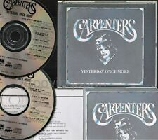 CARPENTERS Yesterday Once More JAPAN 2CD 1987 issue w/PS+ INSERTS D50Y3154 FreeS