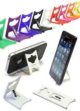 iPhone 4G 4S 5 6 Mobile Holder WHITE iClip Travel Desk Dipslay Stand Rest