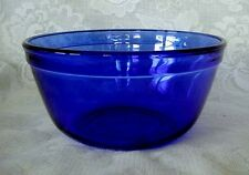 Beautiful ANCHOR HOCKING Cobalt Blue Glass 1.5 Quart Bowl - NEW - Made in U.S.A.