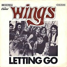 "7"" Wings (Paul McCartney /Beatles) – Letting Go // Rare Original Germany 1975"