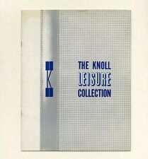 1966 Knoll Associates RICHARD SCHULTZ FURNITURE Herbert Matter photo Catalog