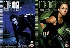 DARK ANGEL COMPLETE SERIES 1 and 2 DVD Set All Episodes from Season New UK R2