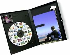 10 Photo DVD Disk Case with holder for Memory Card Photographs Inlay New Cover