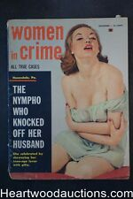 """Women in Crime"" November 1959 Cold Java and Hot Bullets"