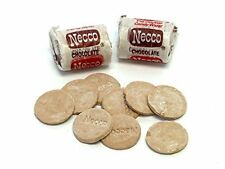 CHOCOLATE WAFER ROLLS FROM NECCO, 1LB