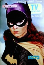 TV Guide 1967 Regional Batgirl Yvonne Craig Barbara Eden TV Showtime VTG Rare