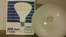 NEW Philips R40 300W 120V-130V 300R/3Fl Reflector Mogul Base Light Bulb