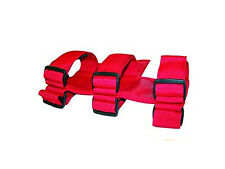 Fire Extinguisher Holder for Roll Bar in RED MADE IN USA ftis Jeep Wranglers