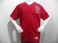Nike Boston Red Sox Mens Classic Baseball Jersey Shirt Dri FIT Large Dri Fit Red