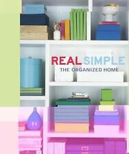 Real Simple Book Organized Home Decor Shelves Storage Efficient Rooms House