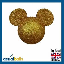 Gold Glitter Disney Minnie Mouse Mickey Mouse Car Aerial Ball Antenna Topper