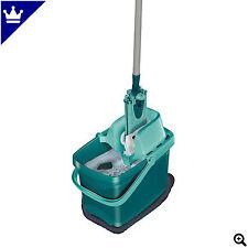 Leifheit Combi Clean Set inkl. Eimer mit Presse & Bodenwischer klassisch grün
