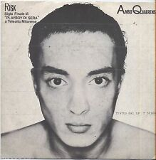 "AMBO QUAERENS - Risk - VINYL 7"" 45 ITALY 1981 NEAR MINT COVER VG+ CONDITION"