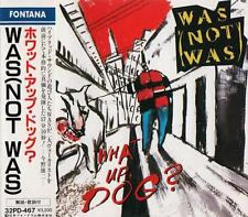 WAS (NOT WAS) What Up Dog RARE FIRST PRESS JAPAN CD OBI 32PD-467