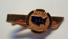 National rifle fesses. of america tie pin badge