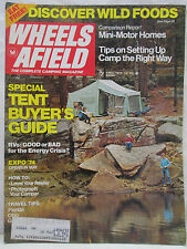 Wheels Afield The Complete Camping Magazine April 1974 Mini Motor Homes