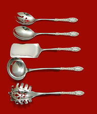 KING RICHARD BY TOWLE STERLING SILVER HOSTESS SET 5-PIECE HH WS CUSTOM MADE