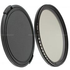 43mm variable ND filtro greenl nd2-nd400 con 46mm objetivamente tapa lens cap