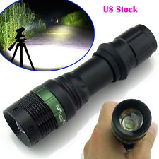 T6 5000Lumen 3Modes Zoomable Tactical Focusing LED Flashlight Torch Camping Lamp