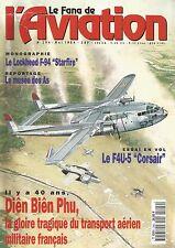 """FANA DE L'AVIATION N°294 LOCKHEED F-94 """"STARFIRE""""/F4U-5 """"CORSAIR""""/DIEN BIEN PHU"""