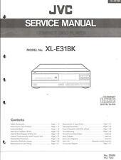 JVC Original Service Manual für XL-E 31